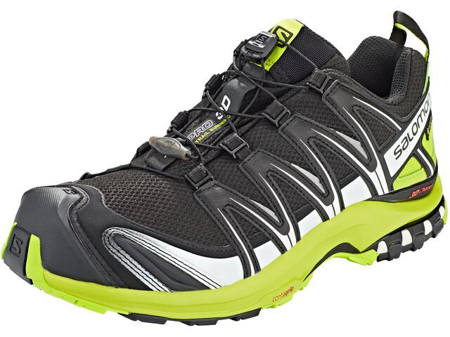 Salomon XA Pro 3D GTX Trailrunning Shoes Men, black/lime green/white